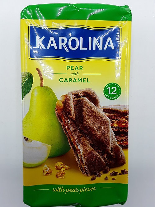 KAROLINA biscuiti pere si caramel 225g
