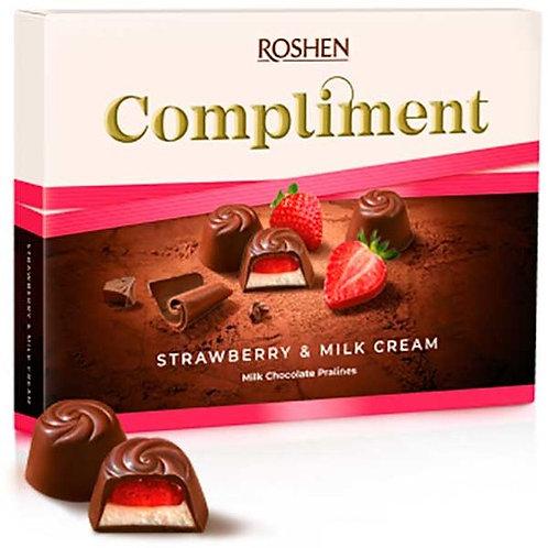 Roshen Praline Compliment Strawberry - 120g