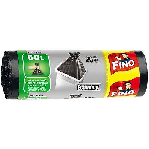 Saci de gunoi 60l -Fino