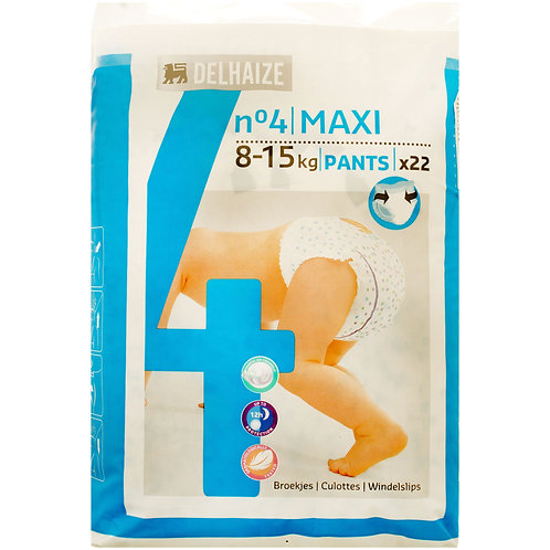 Delhaize Scutece Chilot Maxi 22buc