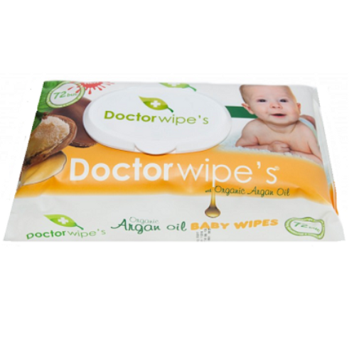 Dr. Wipe s Servetele Umede Argan Oil - 72buc