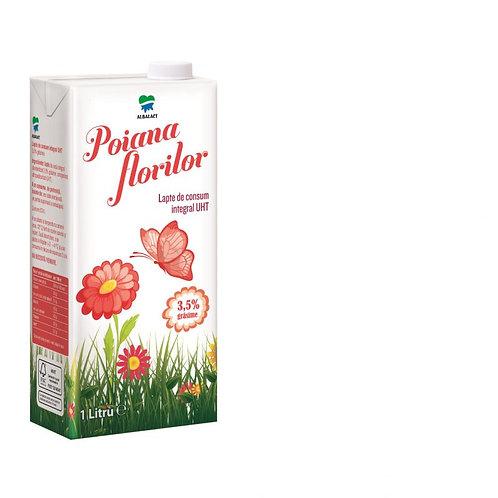 Lapte de consum 3.5% - POIANA FLORILOR - 1L