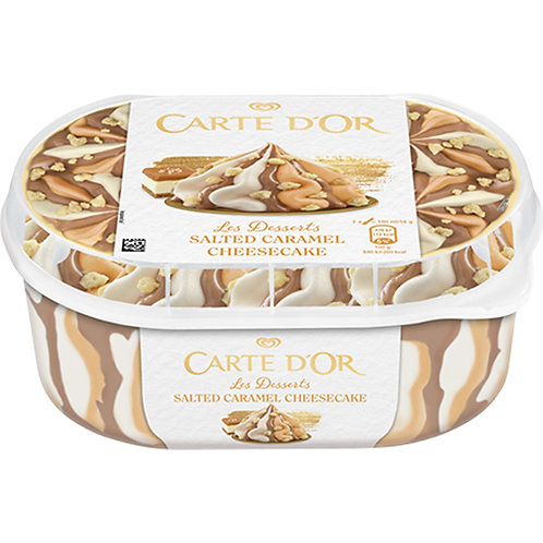 Carte D Or Salted Caramel Cheesecake - 900ml