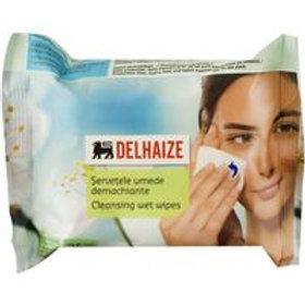 Delhaize Servetele Umede Demachiante - 25buc