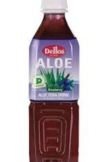 Dellos Aloe Vera Blueberry - 500ml