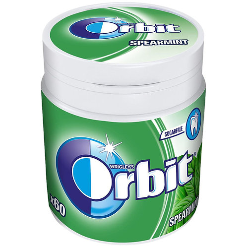 Orbit Spearmint Bottle - 60 dr