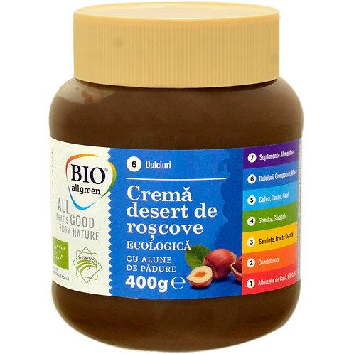Crema de roscove ECO cu alune de padure - Bio All Green - 400g