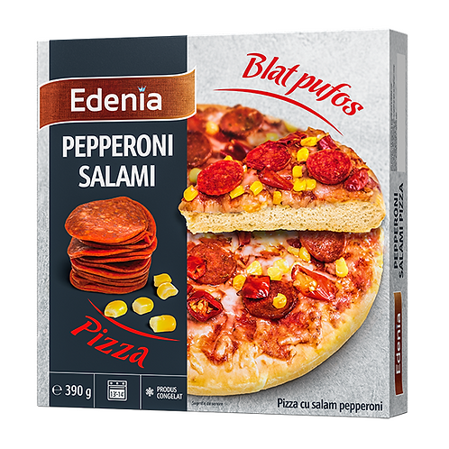 Edenia Pizza Pepperoni Salami - 390g