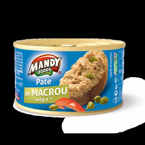 MANDY Pate de Macrou 145G