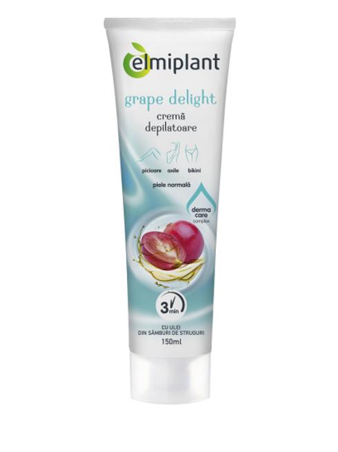 Elmiplant Crema Depilatoare Grape Delight - 150ml