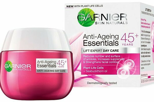 Garnier Skin Natural Crema Anti Ageing 45+ - 50ml