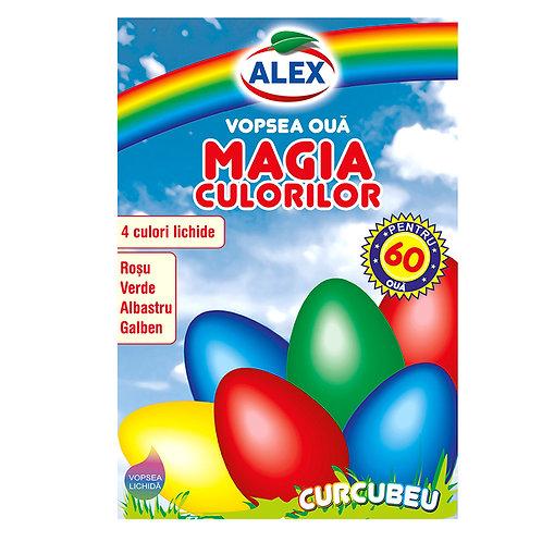 Alex Vopsea Oua Magia Culorilor - 17ml