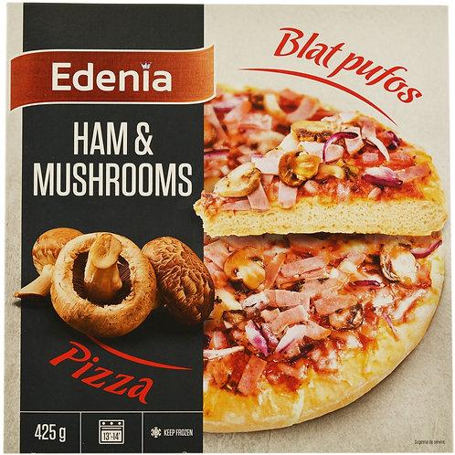Edenia Pizza Ham&Mushrooms - 425g