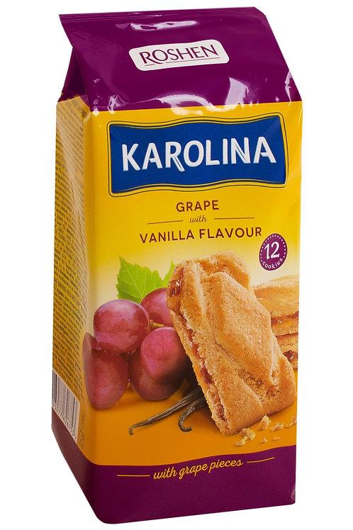 KAROLINA biscuiti grape vanilla 225g
