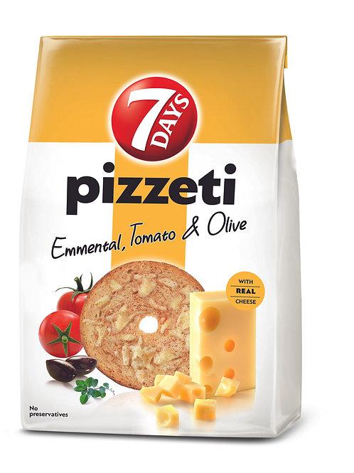 7DAYS Paine Prajita Emmental,Tomato&Olive 80G