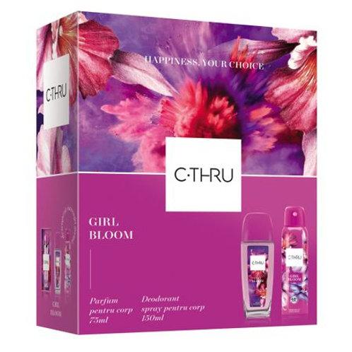 Set C-THRU Girl Bloom (spray corp 75ml+ deo 150 ml)
