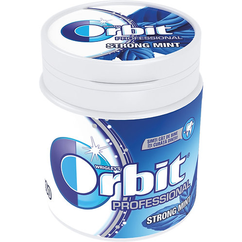 Orbit Professional Strong Mint Bottle - 60 dr