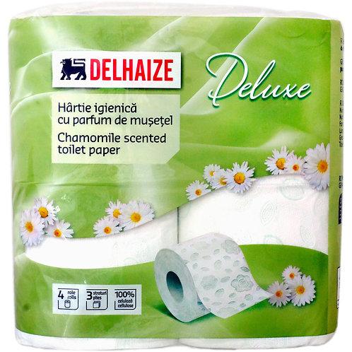 Hartie igienica parfum de musetel - DLL -  4 role 3 straturi