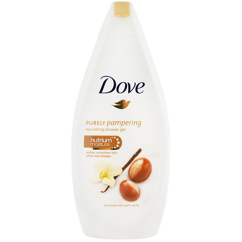 Dove Gel de Dus Shea Butter Vanilla - 500ml