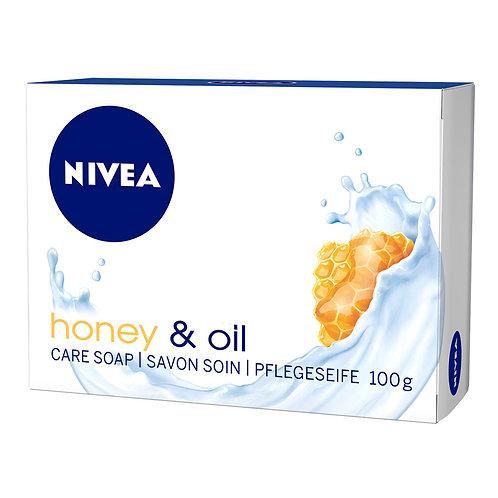 Nivea Sapun Honey Oil - 100g