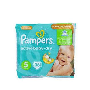 Pampers Active Baby s Junior 36buc
