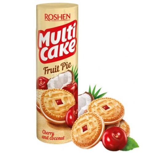 Roshen Multi Cake Cherry and Coconut - 195g
