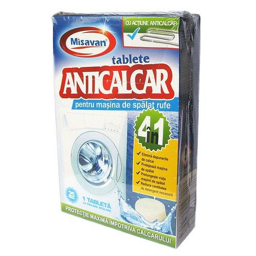 Misavan Tablete Anticalcar 4 in 1