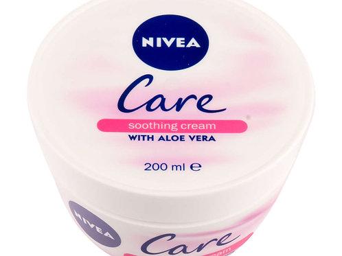 Nivea Care Shoothing Cream with Aloe Vera - 200ml