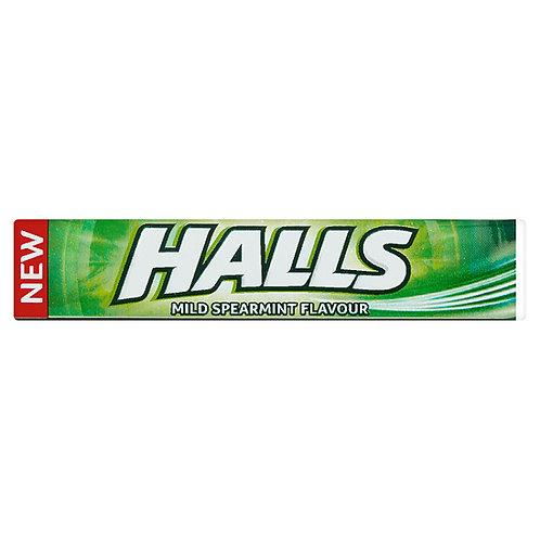Halls Mild Spearmint Flavour - 33.5g