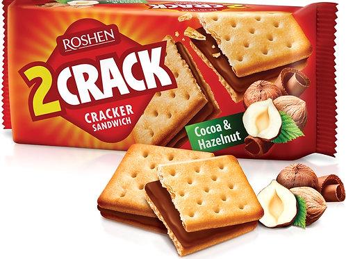 Roshen 2Crack Cacao Alune - 50g