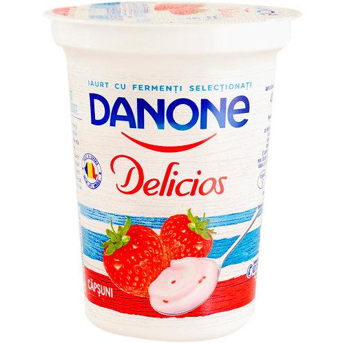 Danone Delicios iaurt capsuni - 400g