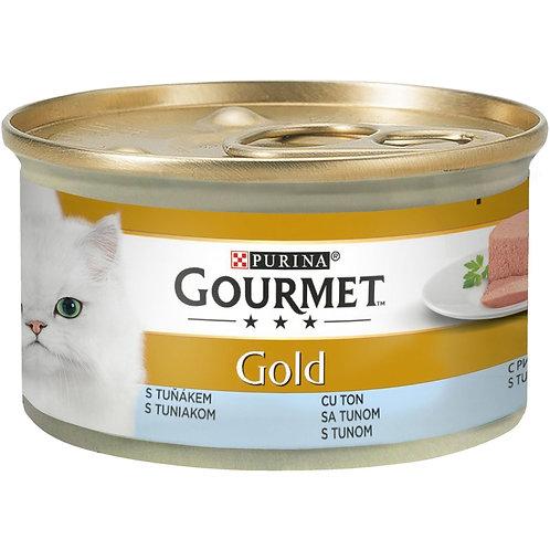 Gourmet Gold- Hrana pentru pisici cu ton -85g