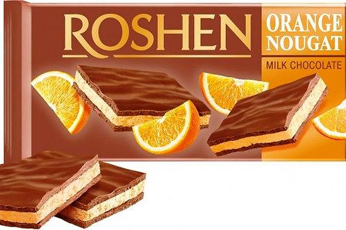Roshen Ciocolata Orange Nougat - 90g
