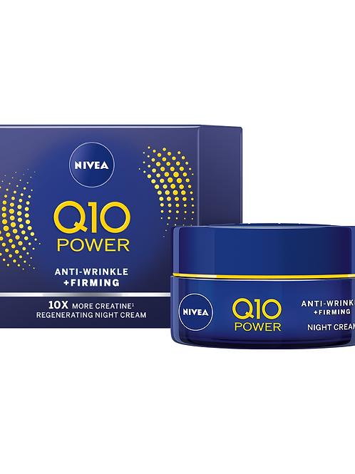 Nivea Crema Antirid de Noapte Q10- 50ml