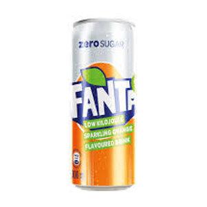 Fanta Zero Orange - 330ml