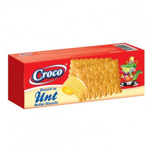 Croco Biscuiti cu Unt - 100g