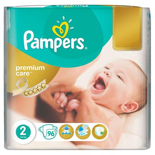Pampers 2 Premium Care 3-6kg 96buc