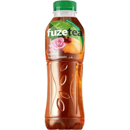 Fuze Tea Ceai Negru Piersici Trandafiri - 500ml