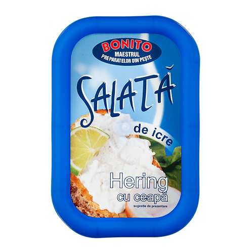 Bonito - Salata de icre hering cu ceapa - 350g