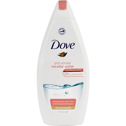 Dove Gel de Dus Anti Stress Micellar Water - 500ml