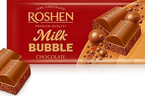 Roshen Ciocolata Milk Bubble - 80g