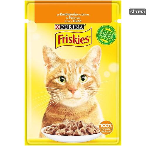 Friskies - Hrana umeda pentru pisici cu pui - 85g