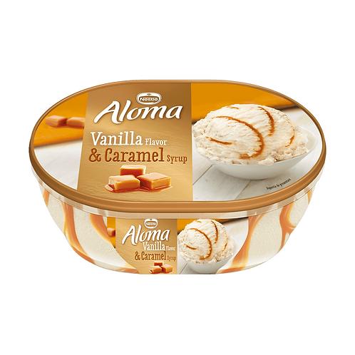 Aloma Inghetata Vanilla si Caramel - 900ml