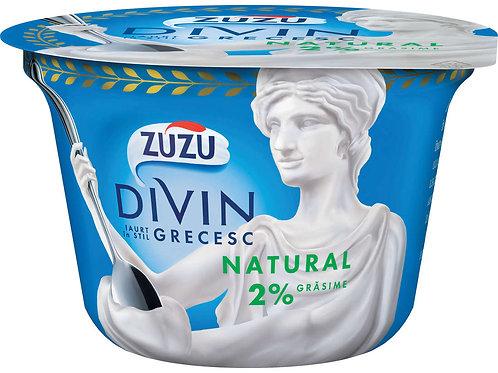 Iaurt grecesc natural 2% - ZUZU DIVIN - 150g