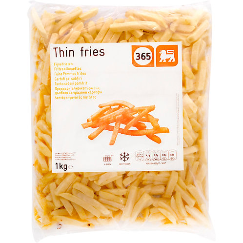 365 Thin Fries Cartofi Congelati - 1kg
