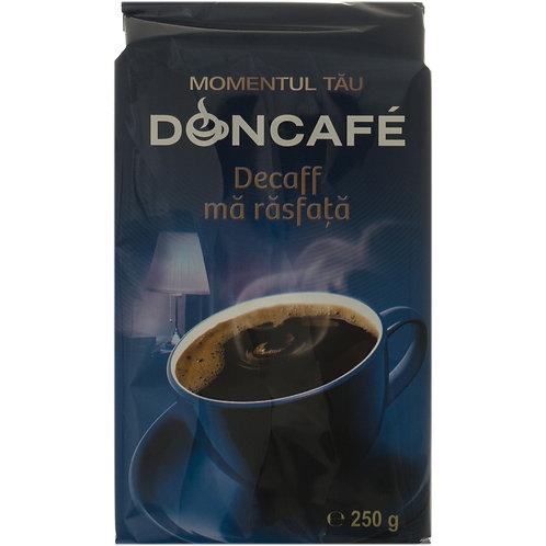 Doncafe cafea decofeinizata rasfata 250G