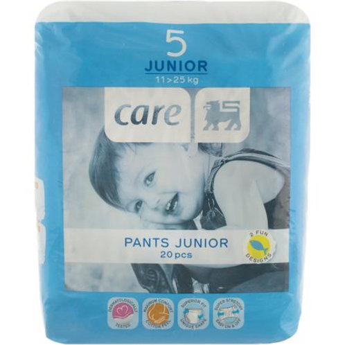 Delhaize Care Baby Scutece Pants Junior 20buc