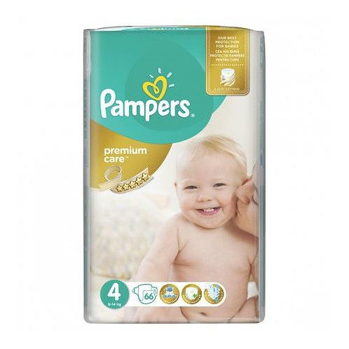 Pampers Premium Care 4 Maxi 66buc