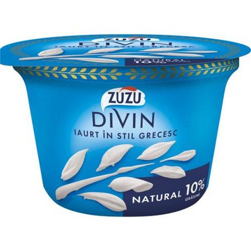 Iaurt grecesc natural 10% - ZUZU DIVIN - 150g