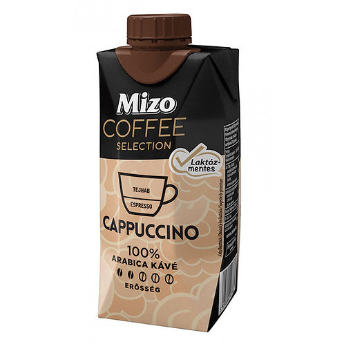 Coffee selection Cappuccino - MIZO - 330ml